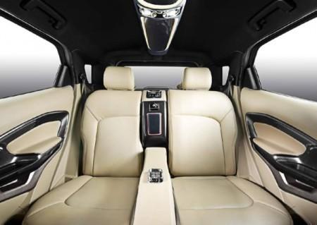 Ford EcoSport фото задние сиденья