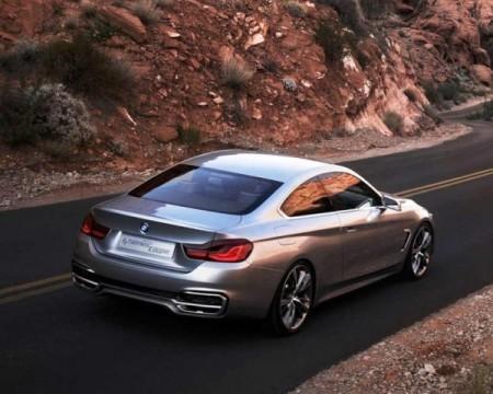 BMW 4-Series фото сзади