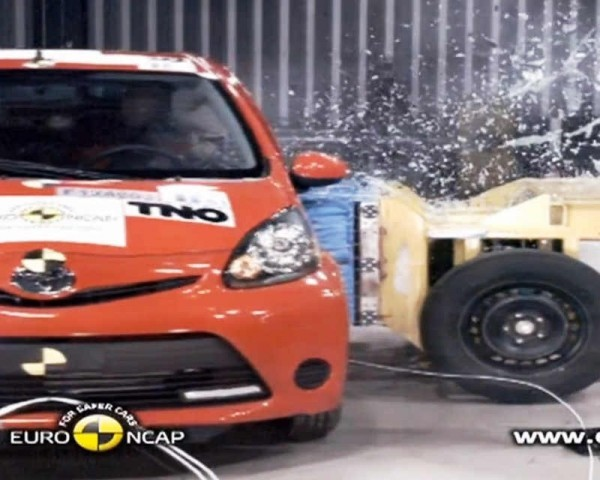 Краш-тесты Peugeot 107