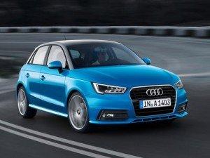 обновленный Audi A1