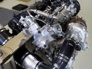 4-цилиндровый двигатель