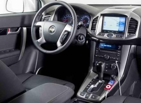 Chevrolet Captiva фото салона