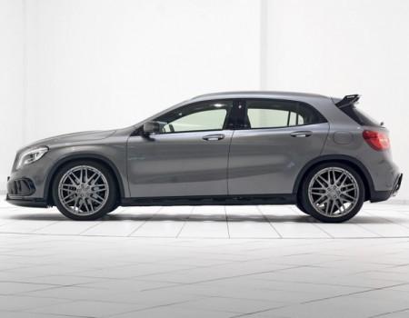 Mercedes GLA 2014 фото сбоку