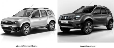 фото изменений Renault Duster