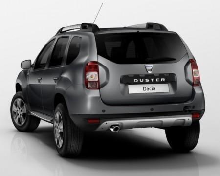 Renault Duster фото сзади