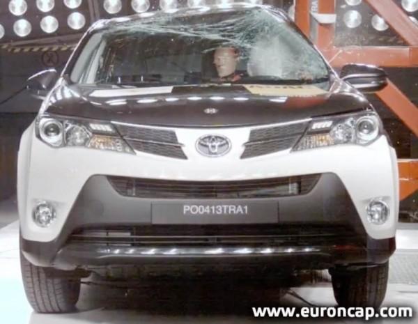 Краш-тесты Toyota RAV4