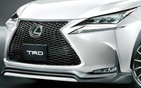 Lexus NX 2015 решётка
