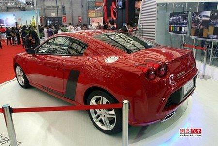 Китайский спорткар