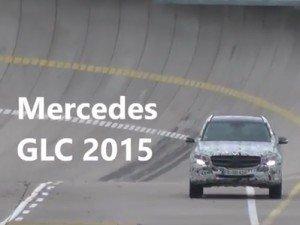 Mercedes тестирует кроссовер GLK