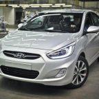 Hyundai Solaris 2013
