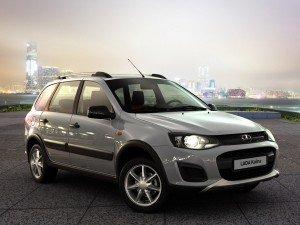 старт продаж Cross-версии Lada Kalina