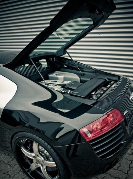 Audi R8 двигатель