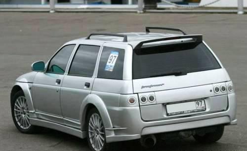 Тюнинг багажника — фото