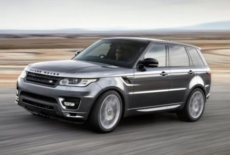 Land Rover Range Rover фото сбоку