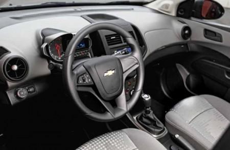 Chevrolet Aveo фото салона