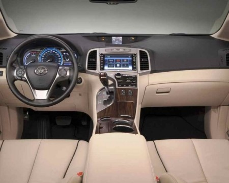 Toyota Venza фото салона