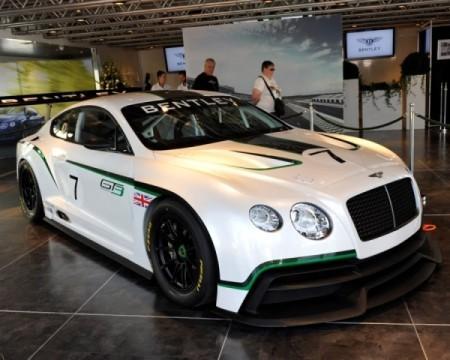 Гоночный Bentley Continental