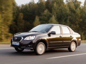 Datsun результаты продаж в России