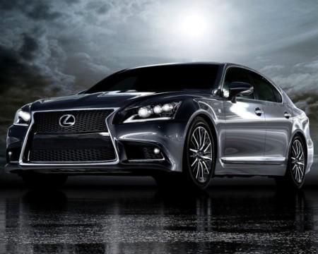 Новый Lexus LS 2013