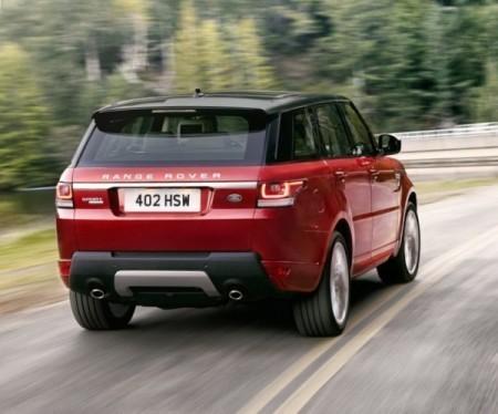 Range Rover фото сзади