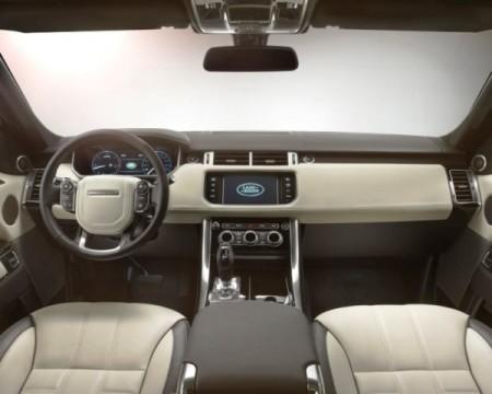 Range Rover фото салона