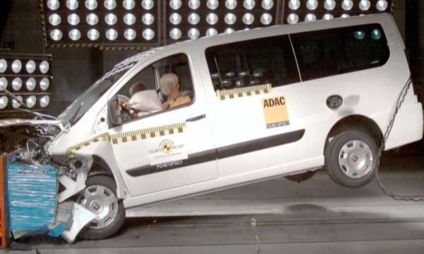 Краш-тесты фургонов