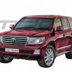 Рестайлинговый Toyota Land Cruiser 200