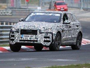 Jaguar F-Pace замечен на тестах в Нюрбургринге