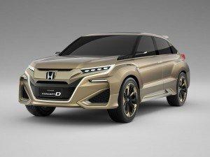 Honda представила концепт кроссовера Concept D