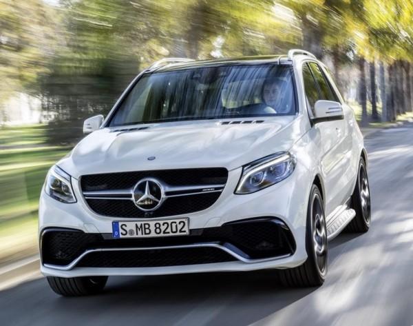 кроссовер Mercedes-Benz GLE 2016