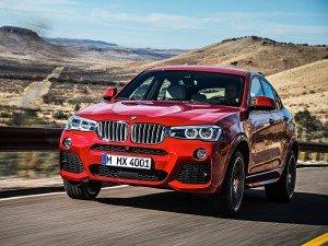 BMW будет собирать кроссоверы X4