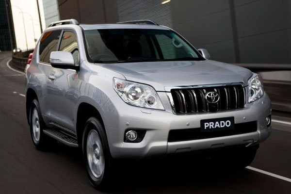 Toyota Land Cruiser Prado в России