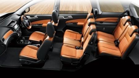 вседорожный Subaru Exiga салон