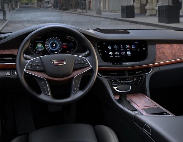 Cadillac CT6 салон