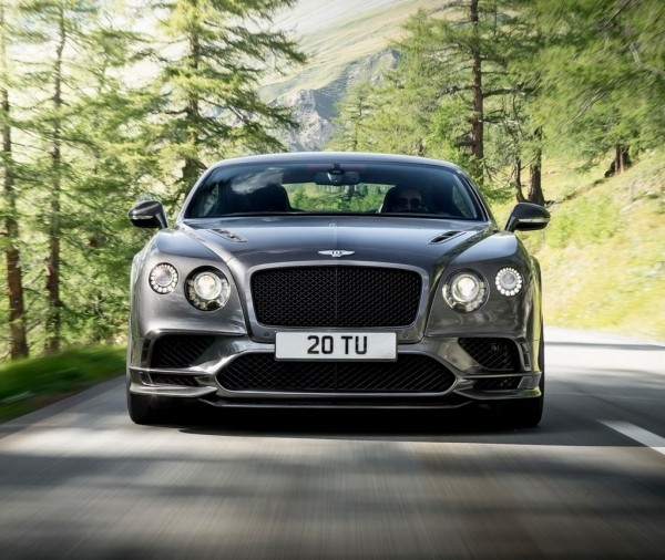 решетка, фары Bentley Continental Supersports