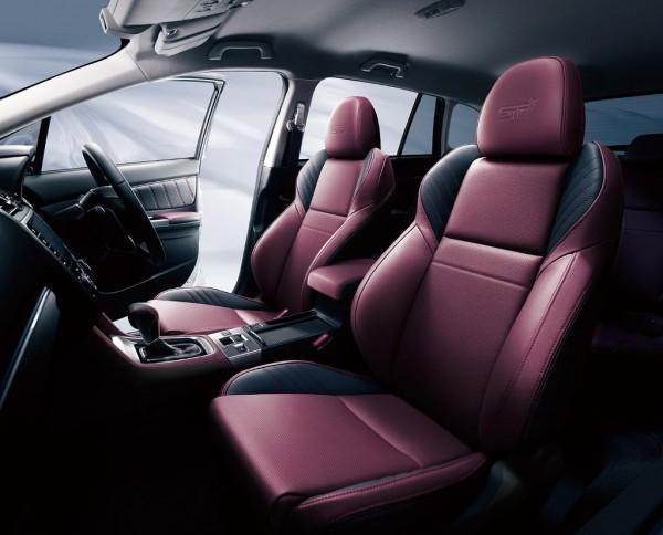 Subaru Levorg STI Sport фото салона