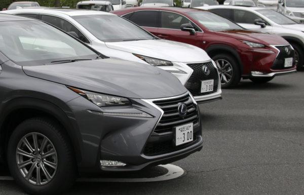 Lexus отзывает машины