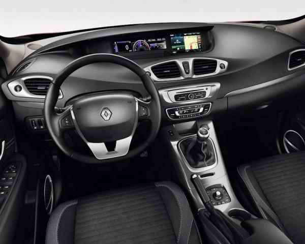 Renault Scenic XMOD фото салона