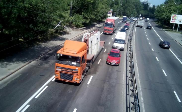 ограничения для крупногабаритного транспорта