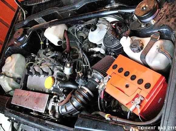 Тюнинг двигателя ВАЗ 2115