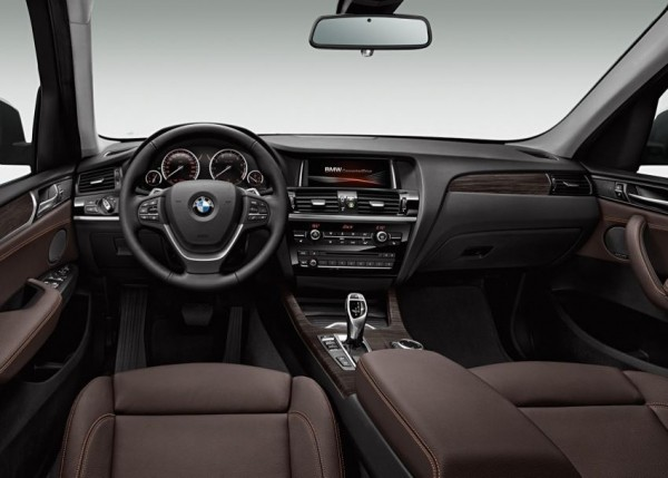 BMW X3 2015 фото салона