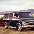 старый Chevrolet