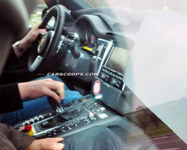 Porsche Macan фото салона