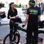 Велопатрули начали работу в столице